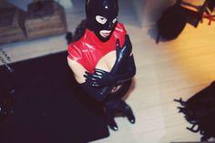 #sage #comme #une #image  #photography by @genamechkov #brussels #latex #fetish #hood #deadlotuslatex #rouge #noir #red #redlatex #harness #eyes #look #atme #model #fetishmodel  #ixelles #deco #lifestyle #perspective #vueduciel #hauteur Latex, Deco, Comme, Perspective, Model, Superhero, Lifestyle, Photography, Fictional Characters