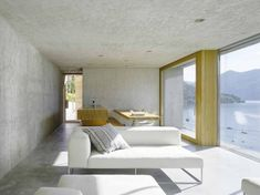 New Construction House in Ranzo is a minimalist house located in Ranzo, Switzerland, designed by Wespi de Meuron. This residential house, ab...