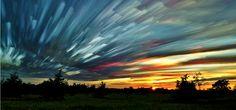 Smeared Sky - photography by Matt Molloy