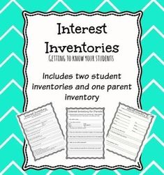 interest inventories