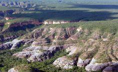 A natureza caprichou bem na região da Serra da Capivara - Piauí