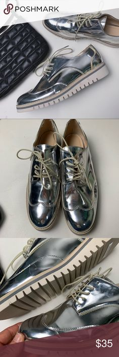 0bf84f69f14c9 50 Best Metallic brogues outfits images in 2019   Oxford shoe ...