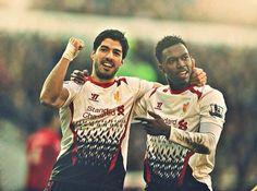 Unstoppable strike duo! #SAS #LFC