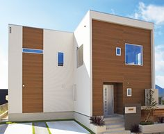 Strategies for incorporating the look into interior and exterior design. Building Design, Building A House, Building Ideas, Exterior Design, Interior And Exterior, Japan House Design, Japanese House, House Plans, New Homes