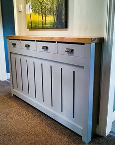Any size! Cabinet *HALLWAY DRESSER* MADE to measure RADIATOR COVER! Quote! in Home, Furniture & DIY, Heating, Cooling & Air, Radiator Covers | eBay!