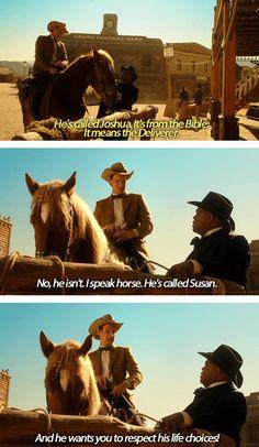 I speak horse…
