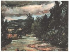 artist-cezanne:River in the plain via Paul Cezanne