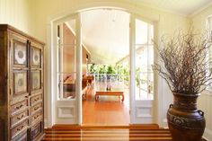 #veranda #design with wood #floors