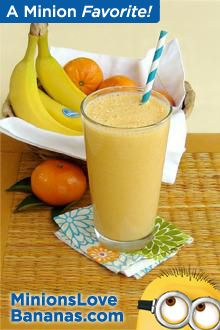 Creamy Clementine and Banana Smoothie
