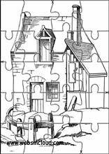 Printable Jigsaw PuzzlesHouses16