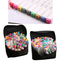 72 Pcs Artist Sketch Markers Set Broad and Fine Nibs Mark Pen Design Gift | Crafts, Art Supplies, Drawing & Lettering Supplies | eBay!