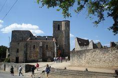 Old Church (Oradour-sur-Glane, France), via Flickr.