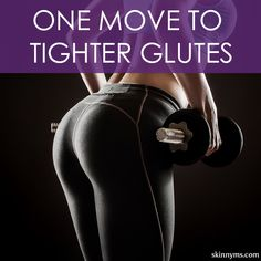 One Move to Tighter Glutes!  #glutes #butt #booty #workout