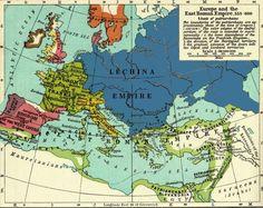 533-600 Slavic Kingdom - LECHINA EMPIRE