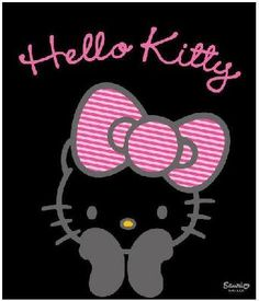 Pin the BOW on HELLO KITTY game!