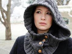 Through The Woods Hood Kit - Knitting Kit includes Yarn & Pattern!