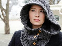 Through The Woods Hood Kit - Knitting Kit includes Yarn & Pattern! - Shop Craftsy's premiere assortment of knitting supplies and save! Get the Through The Woods Hood Kit before it sells out. - via @Craftsy