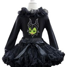 Maleficent tutu set Price: $39.99, Free Shipping Options: 1/2t, 3/4t, 5/7  comment sold then click the picture to purchase :)