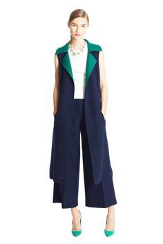 Oscar de la Renta Pre-Fall 2015 Fashion Show High Fashion, Winter Fashion, Fashion Show, Fashion Outfits, Fashion Design, Fashion Trends, Style Fashion, Elegantes Outfit, Outfits