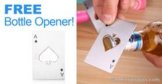 F_R_E_E Bottle Opener! HURRY! - http://gimmiefreebies.com/f_r_e_e-bottle-opener-hurry/ #Beer #Craft #Craftbeer #Day #Drink #Food #Weekend #ad