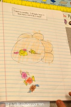 Don't think you have time for math journals in the kindergarten classroom? Yes you do! Here's how.