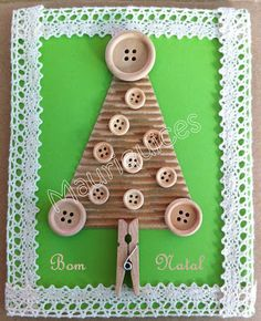 Mauriquices: Árvore de Natal em botão!