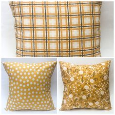 Yellow Pillow Covers, Mix and Match Pillow Covers, Sofa Pillows, Farmhouse Pillow Covers, Coordinati Yellow Pillow Covers, Yellow Pillows, Gold Pillows, Blue Throw Pillows, Decorative Pillow Covers, Throw Pillow Covers, Sofa Throw, Contemporary Pillows, Buy Pillows