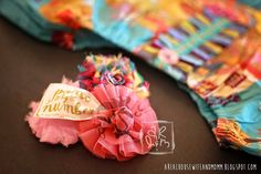 """A """"REAL"""" Housewife and Mommy: Matilda Jane Mesh Bag Use #1 -Circle Flower"""
