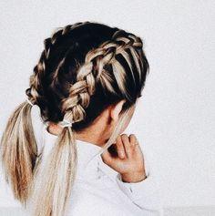a8383cbd1fa9f Hairstyles for medium length hair, for long hair, everyday. Прически на  каждый день