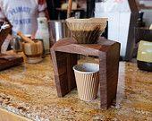 Artikel ähnlich wie Pour Over Coffee Brewing Coffee Stand for SIX dripper auf Etsy, dem weltweiten Markt für Handgemachtes und Vintage.