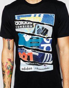 Image 3 ofadidas Originals T-Shirt With Catalogue Print AH9792