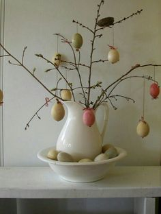 Shabby Easter Egg Tree
