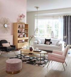 Pink Velvet Stool on Maisons du Monde. Take your pick from our furniture and accessories and be inspired! Small Furniture, Home Decor Furniture, Anthropologie Furniture, Metal Shelving Units, Types Of Sofas, Living Room Grey, Pink Velvet, Baby Decor, Home Decor Inspiration