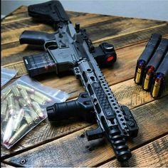 AR Parts for Custom Rifles Weapons Guns, Guns And Ammo, Ar Rifle, Custom Guns, Fire Powers, Military Guns, Assault Rifle, Cool Guns, Shotgun