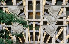 Gettyimages: An Art Deco detail showing Canada geese flying across the sun's rays from above the Burrard Street entrance to the Marine building in downtown Vancouver. By Ross Barnett. Lonely Planet Images