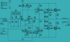 Class AB, Audio Amplifier This circuit uses the push-pull amplification output using the transistors and which are complementary transistors. The power supply should be symmetrical with + and Audio Amplifier Schematics. Dc Circuit, Circuit Diagram, Arduino Projects, Electronics Projects, Radios, Electronic Circuit Design, Circuit Board Design, Receptor, Audio Amplifier