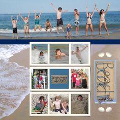 Beach with Rodney's 2010 - Scrapbook.com