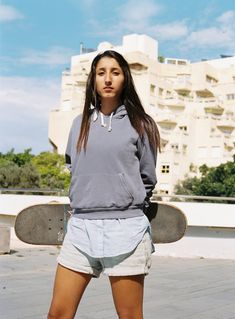 Vogue Meets the Skater Girls of Tel Aviv  From tube socks to Vans, the Tel Aviv skater girls are crashing the skate parks with style.