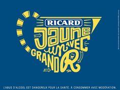 Ricard lance sa nouvelle campagne « Jaune avec un grand R »