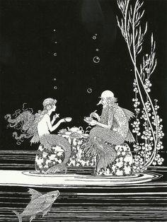 "Ida Rentoul Outhwaite (1888 – 1960), ""The Merman's Glass House"" by sofi01, via Flickr"