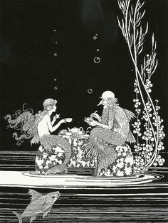 "Ida Rentoul Outhwaite (1888 – 1960), ""The Merman's Glass House"" by sofi01 on…"