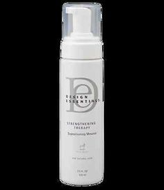 $120 DESIGN ESSENTIALS STRENGTHENING THERAPY TRANSITIONING MOUSSE 8oz ANTI-FRIZZ