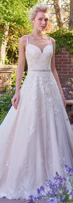 Wedding Dress by Rebecca Ingram - ALLISON | Less than $1,000 | #rebeccaingram #rebeccabride