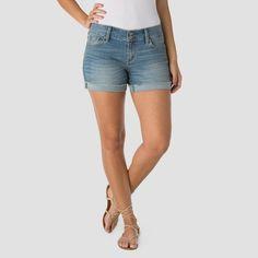 Denizen from Levi's Women's Modern Shorts - Blue Ice - 12, Size: 6, Light