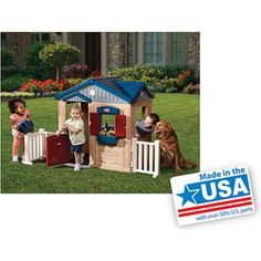Little Tikes Picnic on the Patio Playhouse 199 7325L x 3700