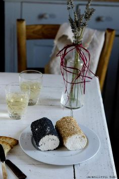 Goat cheese and lavender