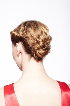 1 Look 3 Ways: Get a Twisted Updo for Straight Hair | Beauty High