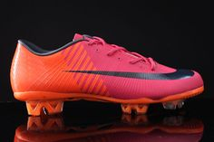 Soccer cleats... the brighter the better!