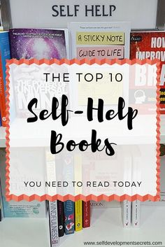 These are some amazing books on self-help. Over 200 experts chosen their favourites and I compiled them to this amazing list!