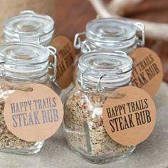 Round 'Em Up | Steak rub party favor! Free favor tag!